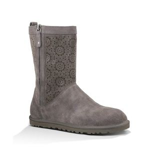 Ugg Lo Pro Short Perf Suede Boots